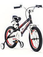 """ROYAL BABY Велосипед двухколесный SPACE NO.1 ALLOY 18"""" Черный BLACK"""