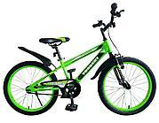 """Детский велосипед Torrent Planeta (дорожный, 1 скорость, рама сталь, колеса 20"""") (20"""" / 10,5"""" / Зеленый"""