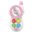HAUNGER Игрушка развивающая Мобильный телефон Pink/Розовый (свет.звук) 8*4*15 см (в кор.72 шт.)