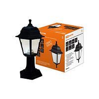 TDM Светильник садово-парковый НТУ 04-60-001 четырехгранник, стойка, пластик, черный