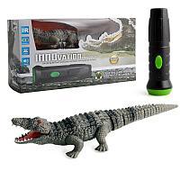 Innovation: Интерактивная радиоуправляемая игрушка Крокодил на пульте управления