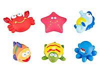 """Roxy: Набор игрушек для ванной """"Морские обитатели"""", 6шт."""