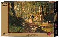 """СТЕЛЛА: Пазлы Шишкин И.И. """"Прогулка в лесу"""", 1000 дет."""
