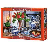 Castorland: Натюрморт с тюльпанами, 1500эл.