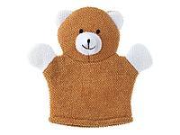 Roxy: Мочалка-рукавичка махровая Baby Bear, коричневый