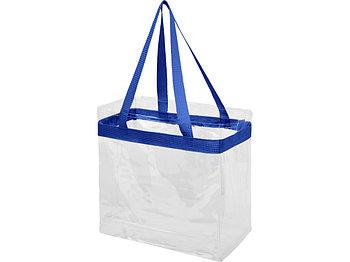 Сумка Hampton, прозрачный/ярко-синий
