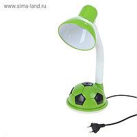 """Лампа настольная Е27 """"Футбольный мяч"""", h=44 см (220В) зеленый"""