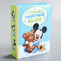 """Фотоальбом на 100 фото в твёрдой обложке """"Самый лучший малыш"""", Микки Маус и друзья"""