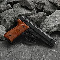 """Пистолет страйкбольный """"Galaxy"""" Beretta 92 мини, кал. 6 мм"""
