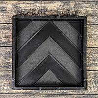 Форма для тротуарной плитки «Ёлка», 30 × 30 × 5 см, 1 шт.