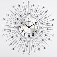 """Часы настенные, серия: Ажур, """"Сферы"""", плавный ход, 58 х 58 см, d циферблата=22 см"""