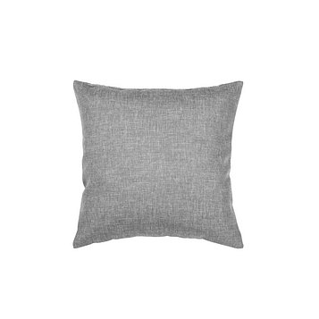 Подушка декоративная, размер 40 × 40 см, рогожка, цвет базальт
