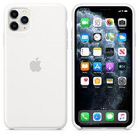 Apple Чехол для iPhone 11 Pro Max Silicone Case White аксессуары для смартфона (MWYX2ZM/A)