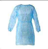 Халат хирургический стерильный одноразовый (40 гр, спанбонд)