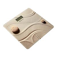 Весы напольные Sakura SA-5072C, электронные, до 150 кг, рисунок 'песок'