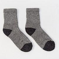 Носки женские, цвет серый, размер 23 (35-37)