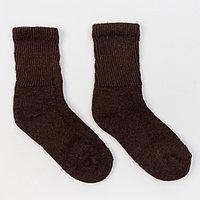 Носки женские, цвет шоколадный, размер 25 (38-40)