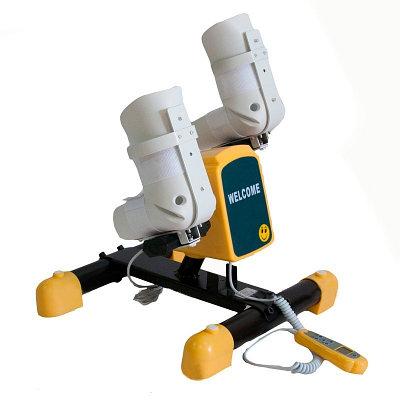 Велотренажер детский c электродвигателем с фиксаторами голеностопа HM-006 B