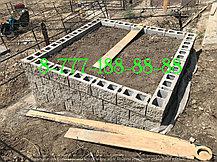 Мусульманская могила облицована гранитной плиткой, фото 3