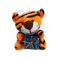 Мягкая игрушка 'Тигр с подарком', на подвесе, цвета МИКС (комплект из 24 шт.)