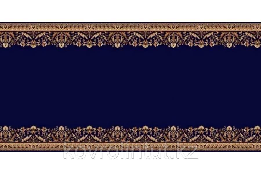 Кремлёвская дорожка Heat Set LOTOS 028/810 Синяя ширина 1,5
