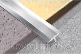 Алюминиевая Т-шина 324-01А 13мм серебро 2,5м