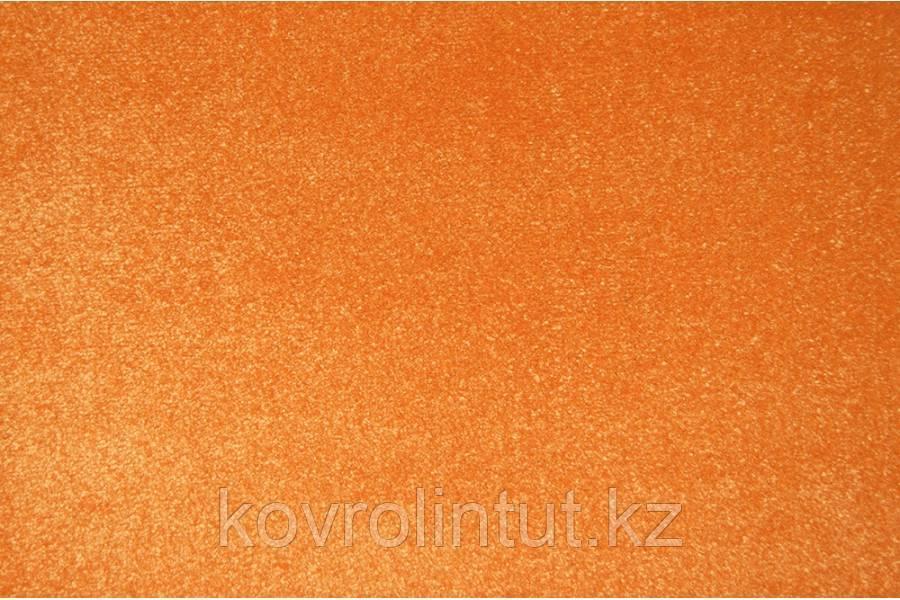 Бытовой ковролин Украина FRISE KOLIBRI 11000/160 Оранжевый 4,0м