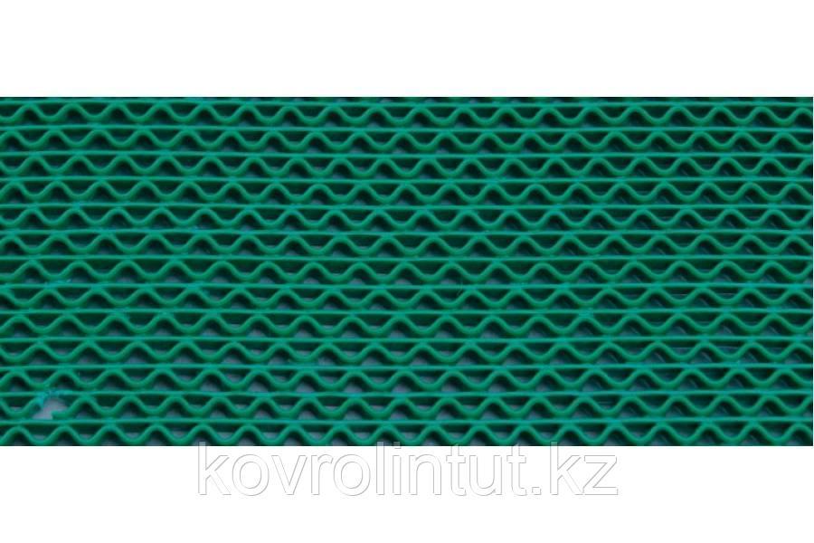 Грязезащитная дорожка PVC Aqua Step зелёная  0,9мх8,5м