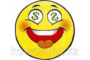 Детский коврик 0,67 х 0,67 Круглый 11083/150 Смайлик $$