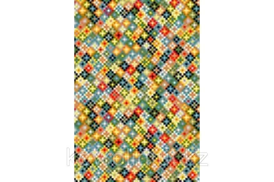Ковёр Украина KOLIBRI Graffiti 1,60 х 2,30 11160 / 143 Зелёный / Цветные звёздочки