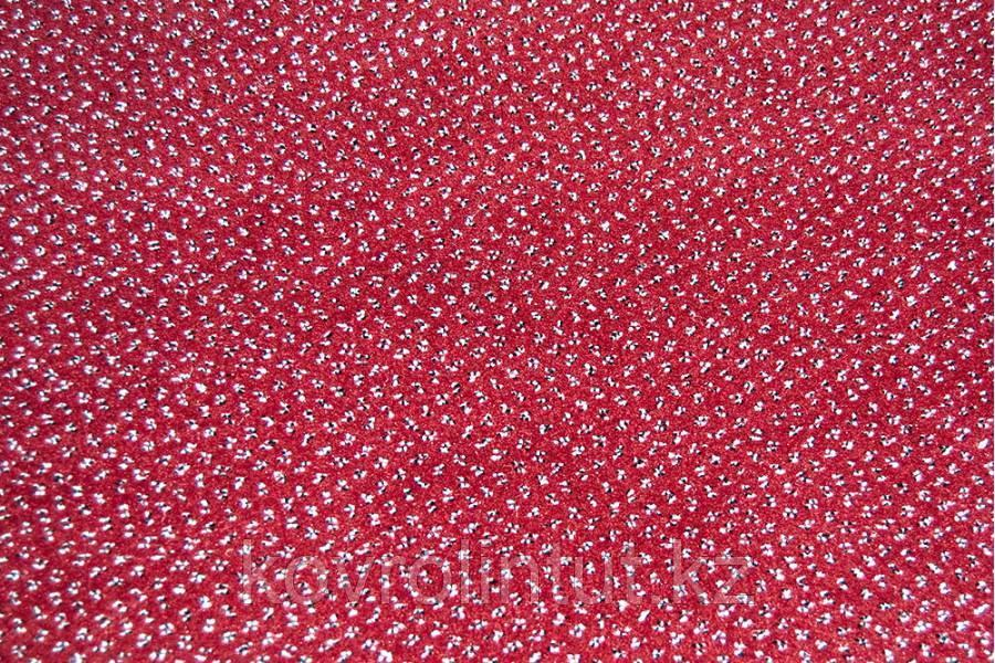 Ковролан   Endurance 455  красный  с точками  4 м