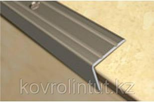 Планка на ступени  24х20мм серебро 0,9м