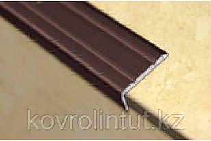 Планка на ступени  24х10мм серебро 1,8м