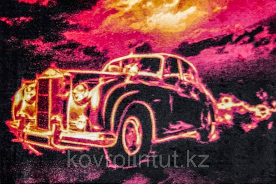 Ковёр  Украина KOLIBRI  FRIZE  1,6х2,3  11116/182   Призрачный гонщик АВТО