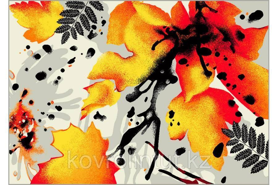 Ковёр  Украина KOLIBRI  FRIZE  1,6х2,3  11186/190 Осень листья