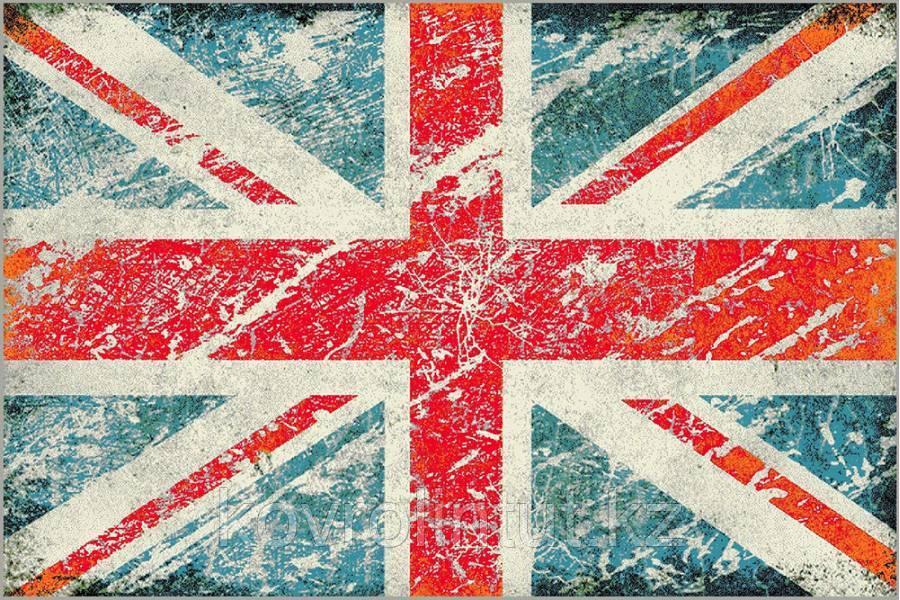 Ковёр  Украина KOLIBRI  FRIZE  1,6х2,3  11197/140 Флаг Англии