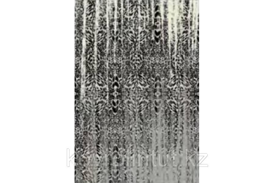 Ковёр  Украина KOLIBRI  FRIZE  1,6х2,3  11301/190 Серый  дождь