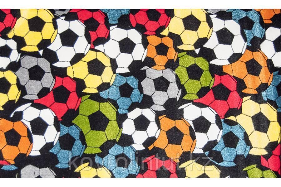 Ковёр  Украина KOLIBRI  FRIZE 11047/123 1,2х1,7  Футбольный  мячи