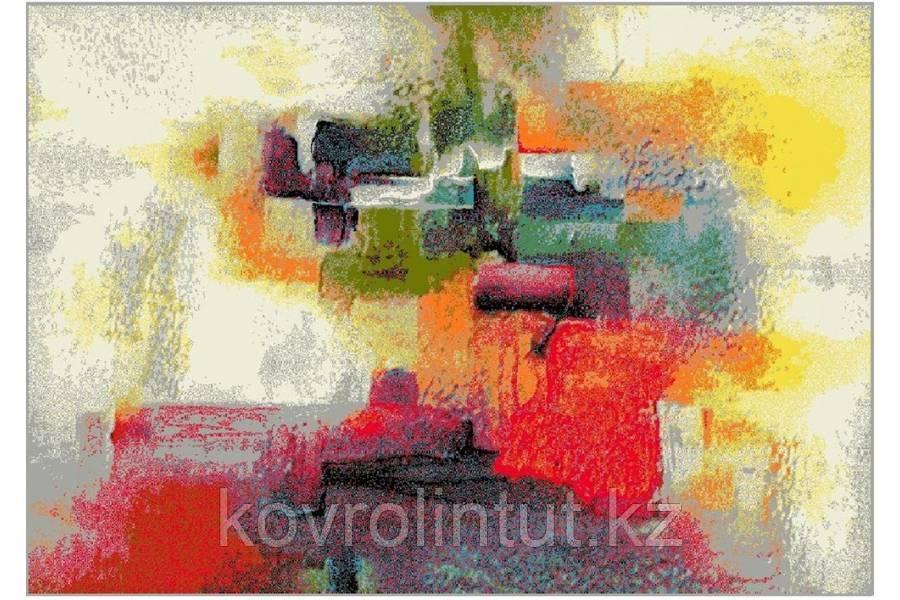 Ковёр  Украина KOLIBRI  FRIZE 1 11398/120 2,0 х 3,0  Цветная фантазия