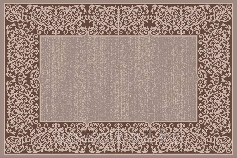 Ковёр  Украина SONATA   22002/130 2,0 х 3,0   Бежевый тёмно-коричневая кайма