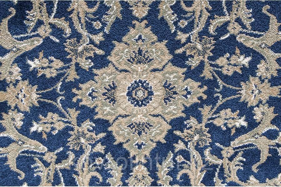 Ковролин Atlas 160 8 41311 Синий с узором (9мм) 4,0м