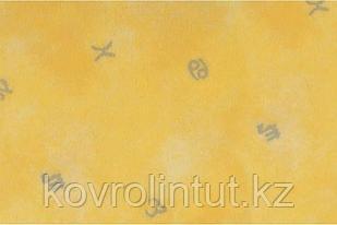 Коммерческий ударопоглощающий линолеум LG EQ Leisure 801 толщина 6 мм защита 0,7 мм ширина 1,83 м жёлтый