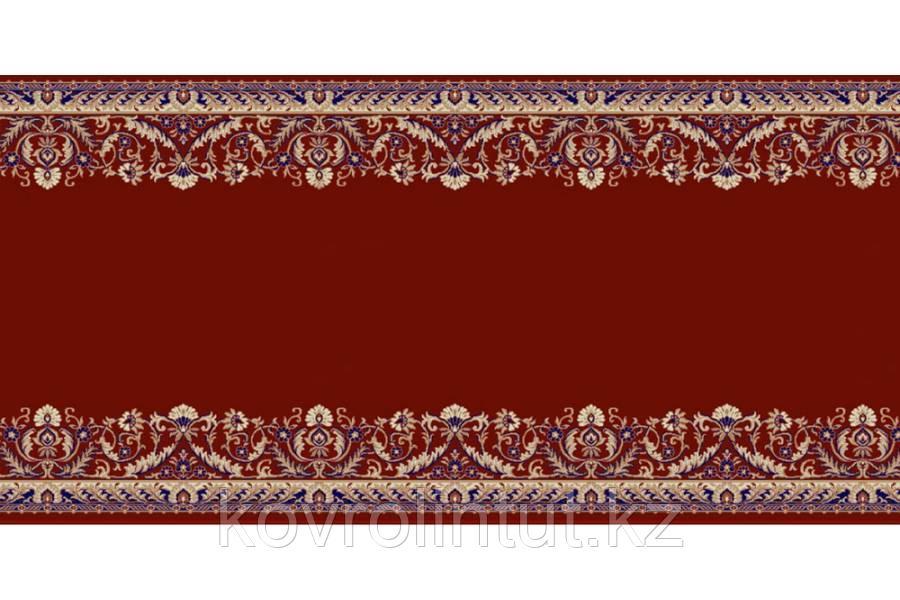 Кремлёвская дорожка Heat Set LOTOS 028/271 Красная ширина 1,5