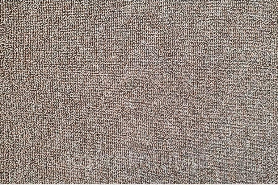 Офисный ковролин  Хальброн резина 069  (высота ворса 3 мм общ.толщ. 5 мм)  4 м    коричневый