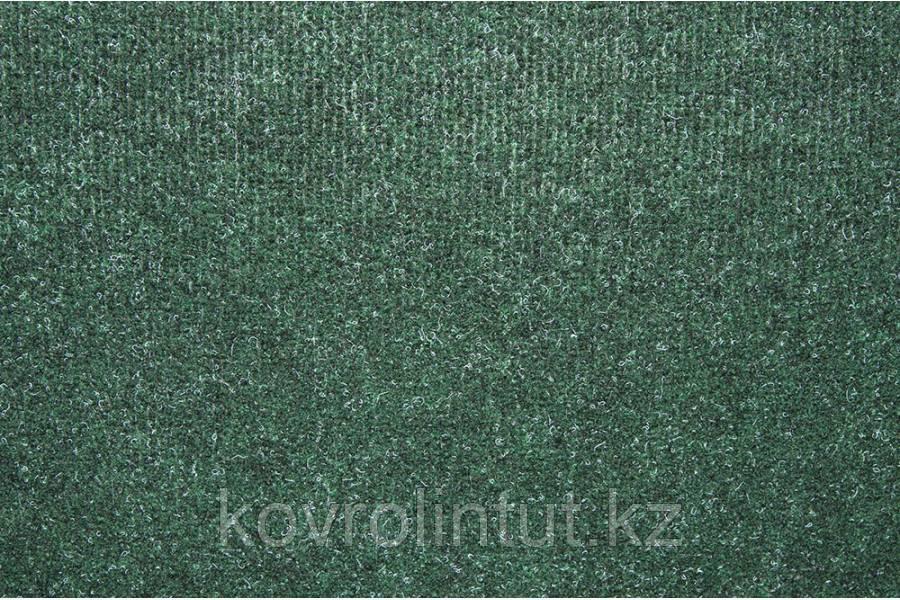 Офисный ковролин Memphis 6651 зелёный / резина 4,0м