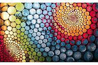 Ковёр Украина KOLIBRI Graffiti 1,60 х 2,30 11056/120 Радужные шары