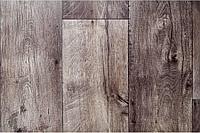 Jutex FORUM Линолеум Forest 7802 ( толщ. 4,3 защита 0,4) 3,0 м Доска серо-коричневая