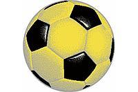 Детский коврик 0,67 х 0,67 Круглый 11198/150 Жёлтый футбольный мяч