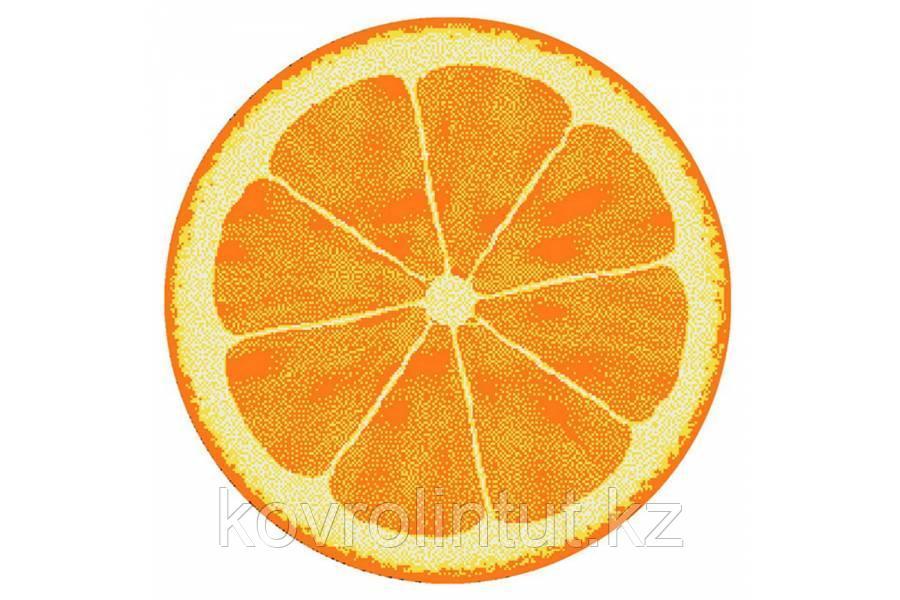 Детский коврик 0,80 х 0,80  Круглый  11173/160   Апельсин