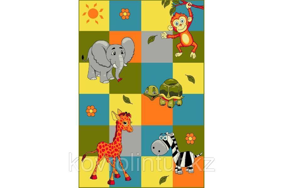 Детский коврик 1,2х1,7   11379/120 Зоопарк